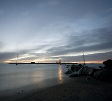 The Grótta Lighthouse by Hjalti Hjartarson