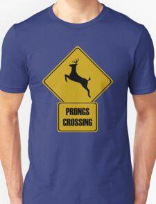Prongs Crossing Unisex T-Shirt