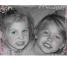 Friendship Sisters Photographic Print