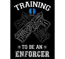 Training to be an enforcer Photographic Print