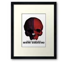 Doctor Who · An Unearthly Child Framed Print