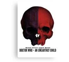 Doctor Who · An Unearthly Child Canvas Print