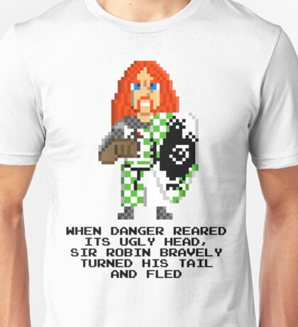 Sir Robin - Monty Python and the Holy Pixel Unisex T-Shirt