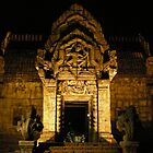 Entrance at Night by Halcyon