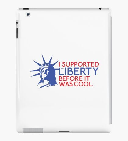 I support liberty iPad Case/Skin