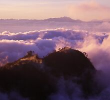 Above the indigo clouds by Halcyon