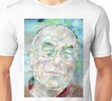 DALAI LAMA - watercolor portrait Unisex T-Shirt
