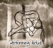 Performing artist by Steve Gale