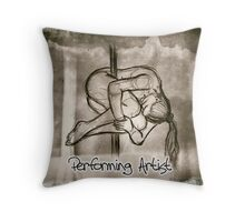 Performing artist Throw Pillow