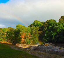 Aysgarth -the end of the rainbow by Stephen Frost