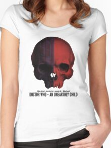 Doctor Who · An Unearthly Child Women's Fitted Scoop T-Shirt