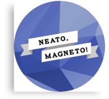 Neato, Magneto! Canvas Print