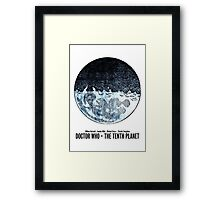 Doctor Who · The Tenth Planet Framed Print