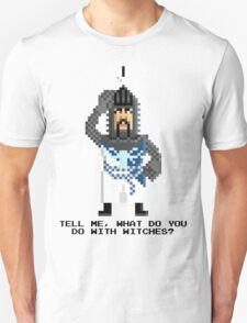Bedevere - Monty Python and the Holy Pixel Unisex T-Shirt