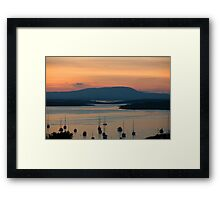 Golden Irish Sunset Framed Print