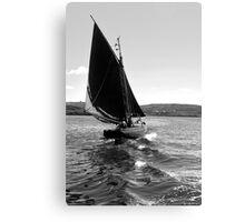 Traditional Sail Canvas Print