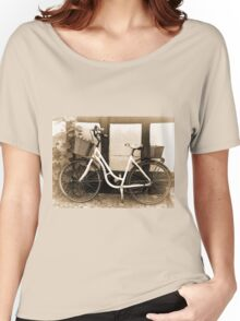 Vintage Classical  Bicycle Women's Relaxed Fit T-Shirt