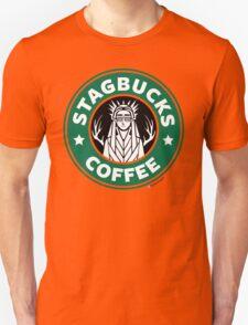 Elves at Stagbucks Unisex T-Shirt