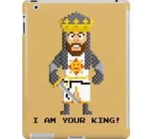 King Arthur - Monty Python and the Holy Pixel iPad Case/Skin