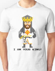 King Arthur - Monty Python and the Holy Pixel T-Shirt