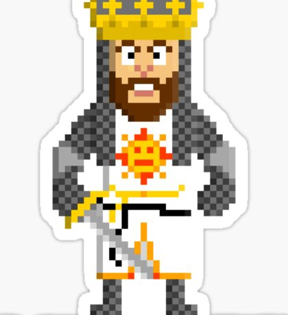 King Arthur - Monty Python and the Holy Pixel Sticker