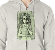 The Librarian - Tinted Zipped Hoodie
