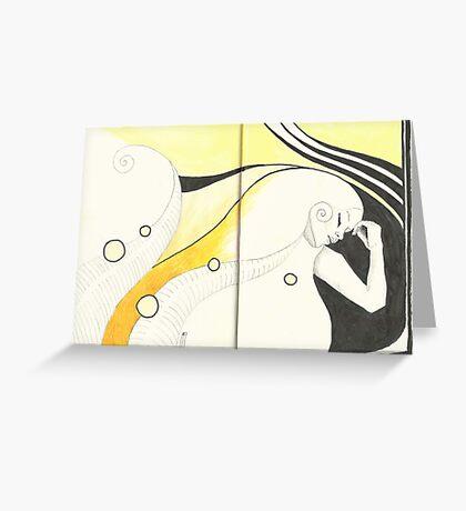 Sketchbook Jak, 20-21 Greeting Card
