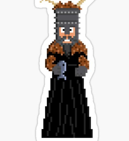 Knight of Ni - Monty Python and the Holy Pixel Sticker