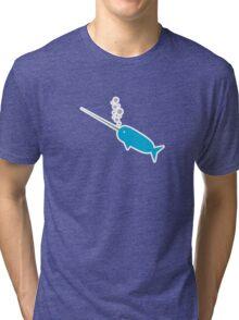Narwhal Narwhal Narwhal Narwhal Tri-blend T-Shirt