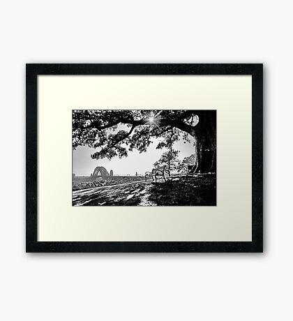 Peaceful City Framed Print