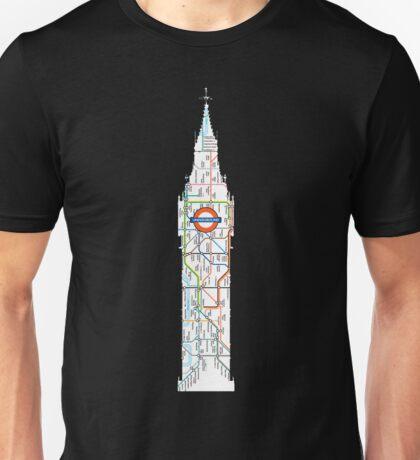 big ben the underground London design Unisex T-Shirt