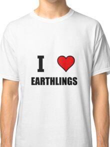 I Heart Earthlings Classic T-Shirt