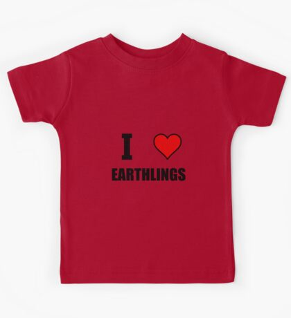 I Heart Earthlings Kids Tee