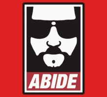 The big lebowski - Abide poster shepard fairey style T-Shirt