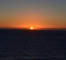 Sunset in Meco Beach 2 by mouchette111