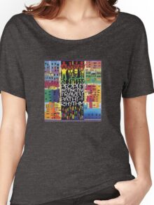 Peoples Instinctive Travels and the Paths of Rhythm Women's Relaxed Fit T-Shirt