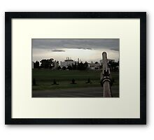 Post-war v.3 Framed Print