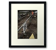 Post-war v.6 Framed Print