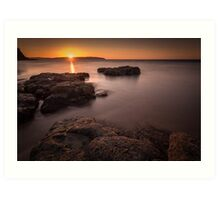 Sunset over Donegal Art Print