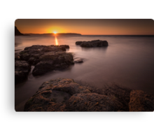 Sunset over Donegal Canvas Print