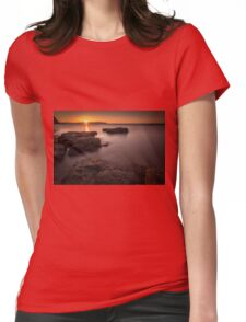 Sunset over Donegal Womens Fitted T-Shirt