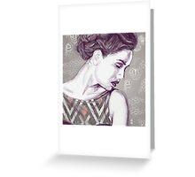 Dream Girl Greeting Card
