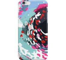 Kimball - Free abstract painting in modern color palette iPhone Case/Skin