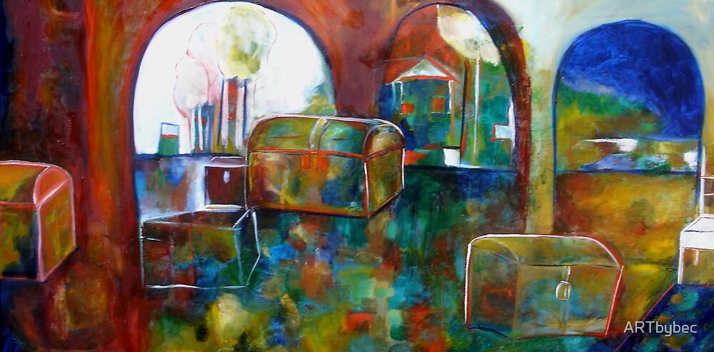 "ART by bec ""Treasure Room"" by ARTbybec"