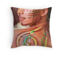 Godess Throw Pillow