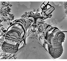 Climbin'! Photographic Print