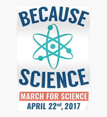 March for science 22nd April Poster
