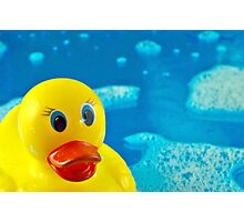Bubble Duck Photographic Print