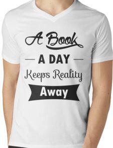 A Book A Day 2 Mens V-Neck T-Shirt