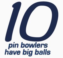 Ten Pin Bowlers by Ruth Palmer